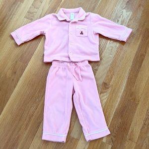 Fleece baby Gap pajama set